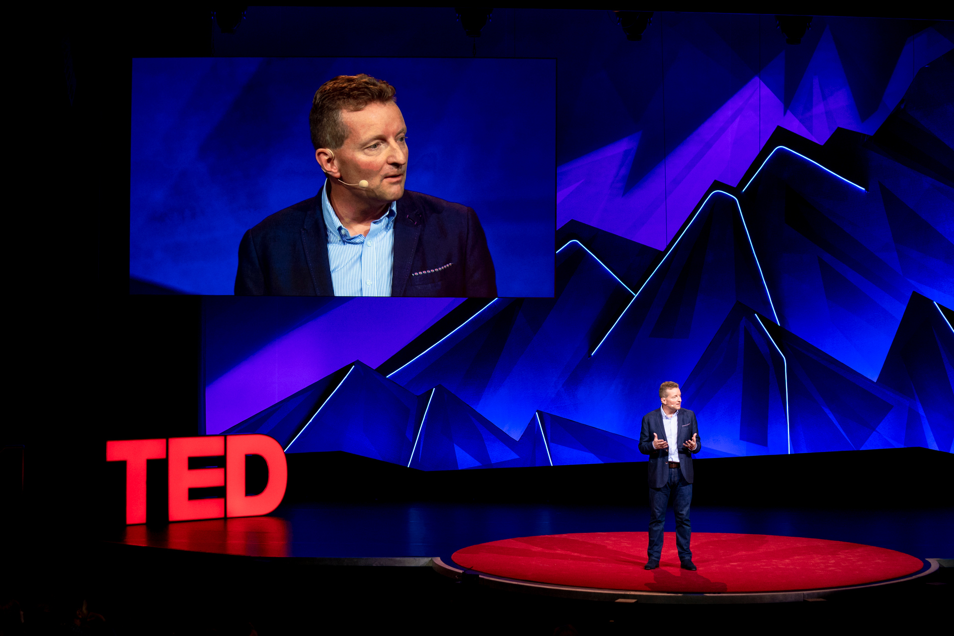 Howard Taylor at TED Summit 2019