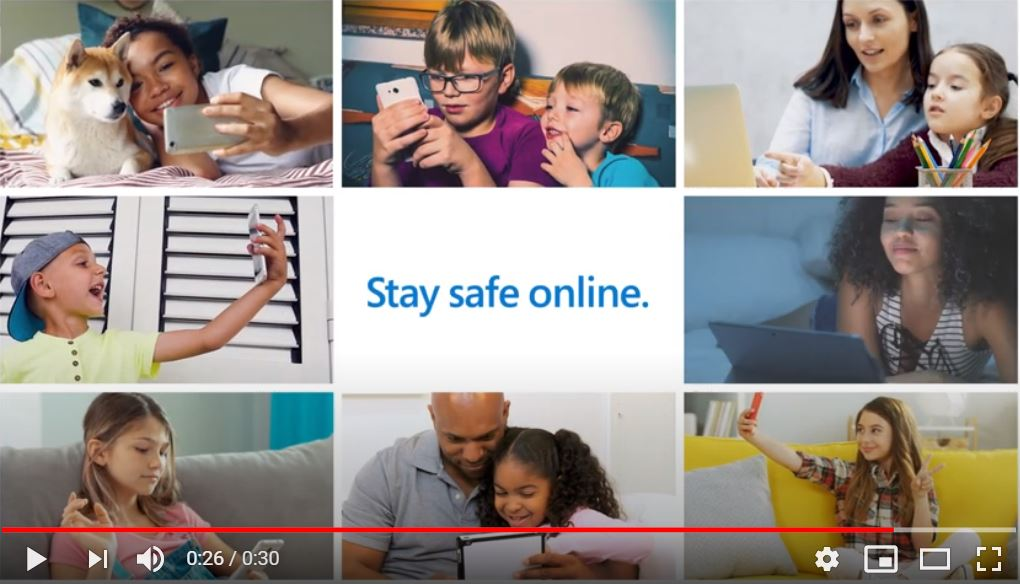 Stay Safe at Home Video.