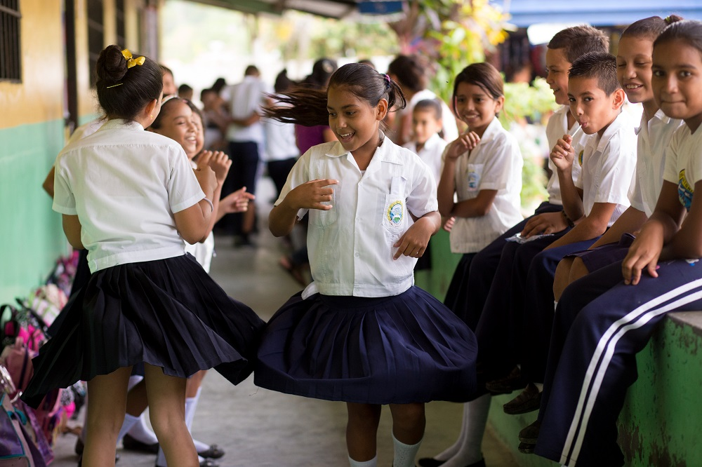 Children in Honduras.