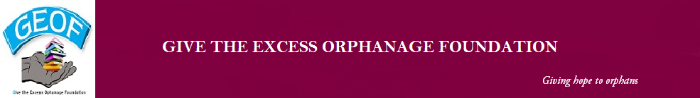 Give The Excess Orphanage Foundation