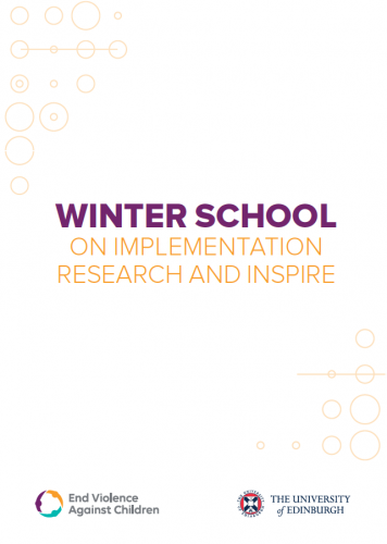 Thumbnail of the Winter School report.