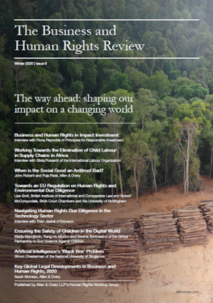 The Business and Human Rights Review, Winter 2020 | Issue 8