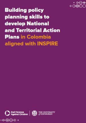 Building policy planning skills to develop National and Territorial Action Plans in Colombia aligned with INSPIRE