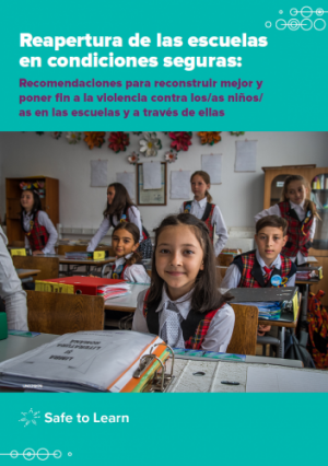 Reopening Schools Safely Prioritising Violence Prevention And Response In Back To School Planning End Violence