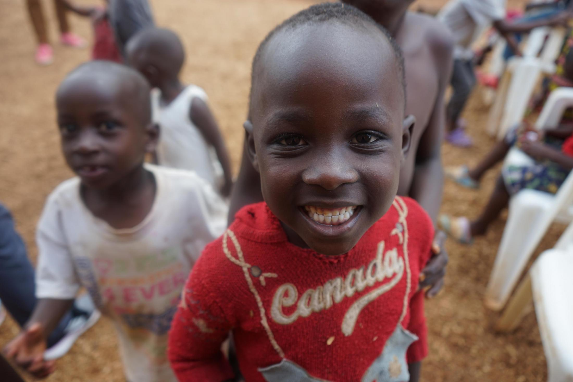 Children in Uganda.